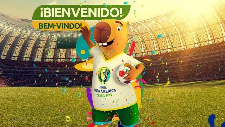 Presentaron a la mascota oficial de la Copa América de Brasil 2019, pero ahora le buscan nombre