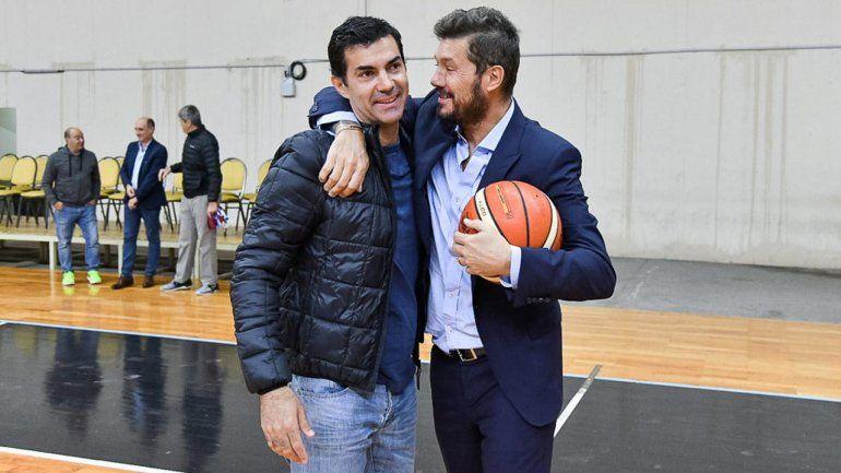 Tinelli estuvo en Salta junto a Juan Manuel Urtubey