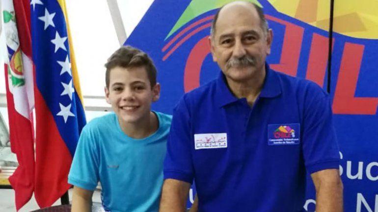 Santiago Ferrari y Abraham Jure