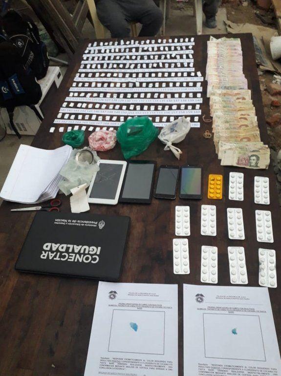 Allanamientos en San Pedro: detuvieron a dos hombres por tenencia y venta de droga
