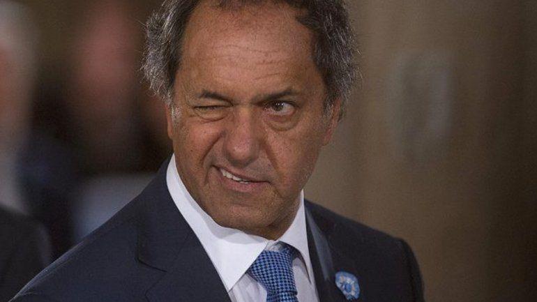 Scioli: Voy a ser candidato contra Cristina y contra quien sea