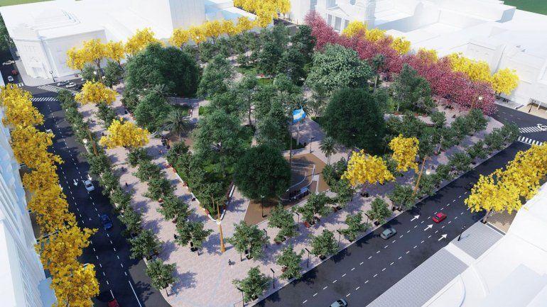 Tucumán se reinventa: mejorarán la plaza Independencia