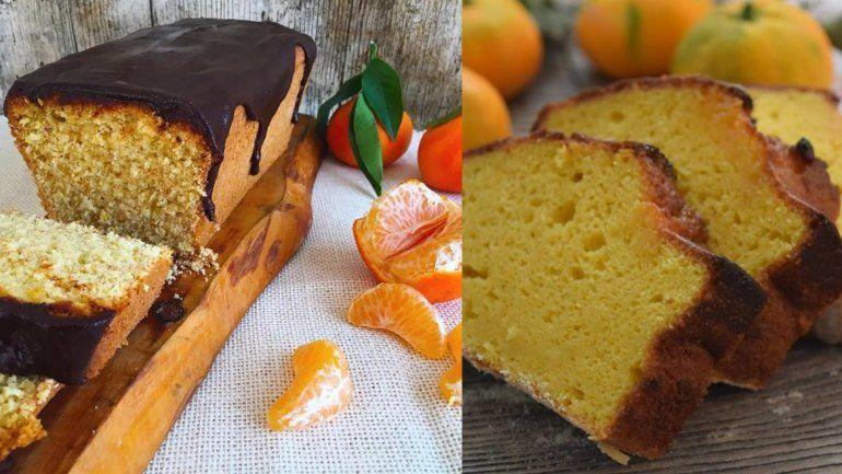 Tentadora y sencilla receta de budín de mandarina