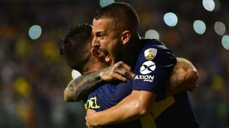 Boca goleó a Jorge Wilstermann en la Bombonera
