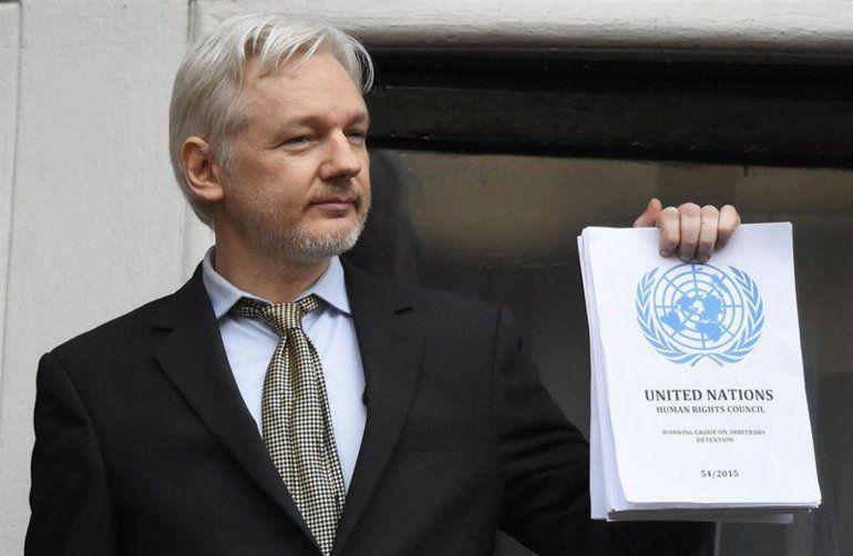 Detuvieron a Julian Assange, creador de WikiLeaks