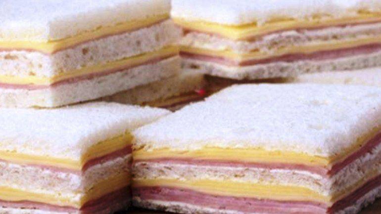 Prohíben la venta de un sandwich de miga que consideran ilegal