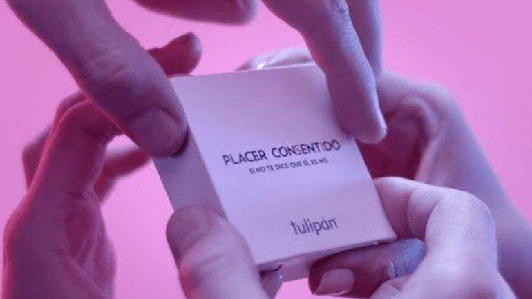#PlacerConsentido: crean una caja de preservativos que sólo se puede abrir de a dos