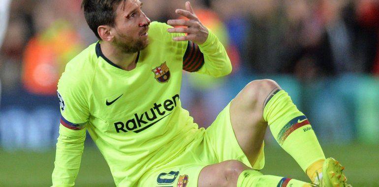 El último parte médico de Lionel Messi y su posible ausencia en el próximo partido