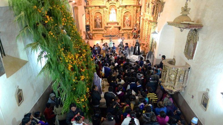 Semana Santa en Yavi: tradición y costumbres de la época de la colonización