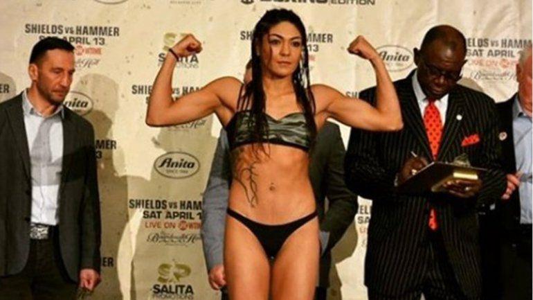 Esta noche pelea la Pumita Carabajal por el título mundial