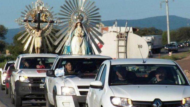 Tumbaya: el Señor y la Virgen del Milagro estarán junto a la Mamita del Cerro
