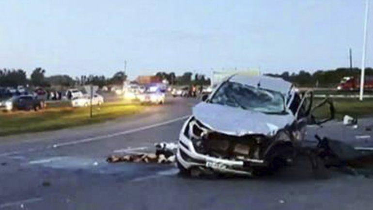Carmen de Areco: ocho personas murieron en un choque frontal
