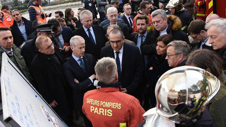Las fotos más impactantes del incendio de la Catedral de Notre Dame
