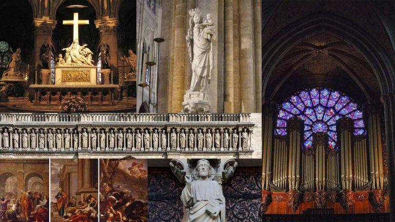 Los tesoros de Notre Dame: obras y reliquias de la gran catedral francesa