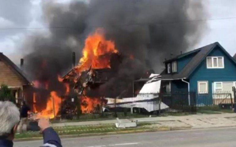 Al menos seis muertos al estrellarse una avioneta en Puerto Montt