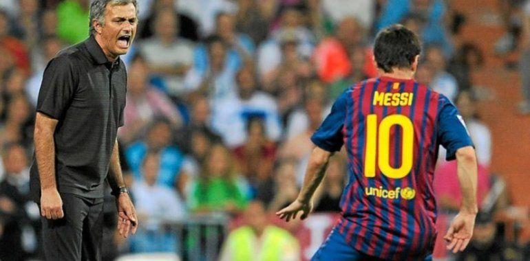 José Mourinho asegura tener la fórmula para anular a Lionel Messi dentro de un campo de juego