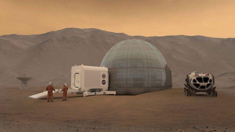 Por primera vez detectan un temblor en Marte y así se sintió
