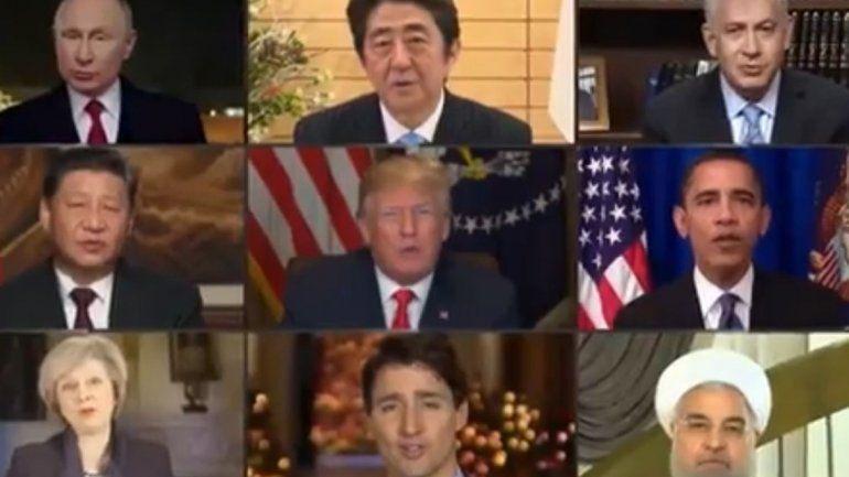 Imagine, la canción que despertó al mundo, en boca de los presidentes de varios países
