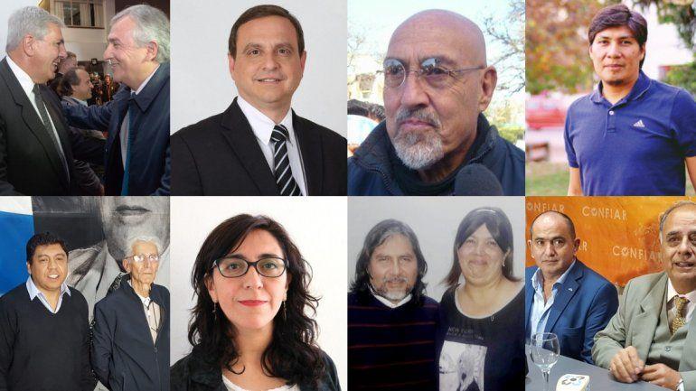Jujuy tiene 12 candidatos a gobernador: mirá quienes son