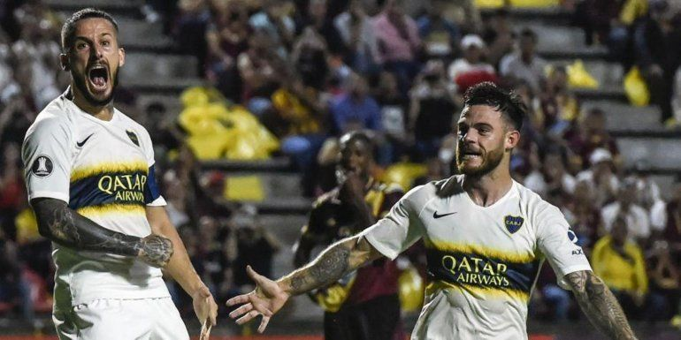 Boca empató en Colombia y está a un paso de clasificar