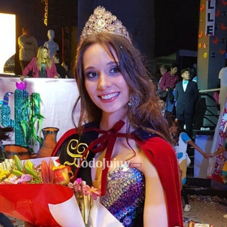 Melina Scoccia es la nueva reina del Colegio del Huerto