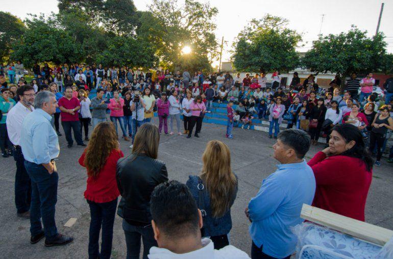 El Gobierno brindó asistencia a 60 familias en Perico
