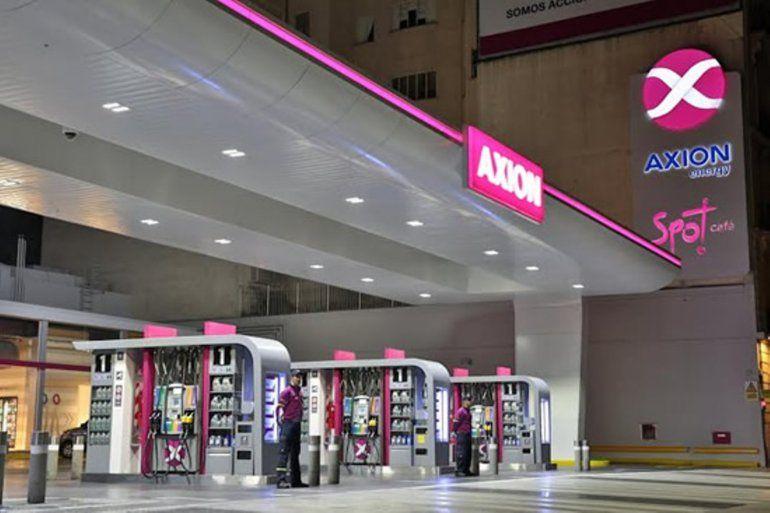 Desde hoy, Axion baja un 2% el valor de sus combustibles