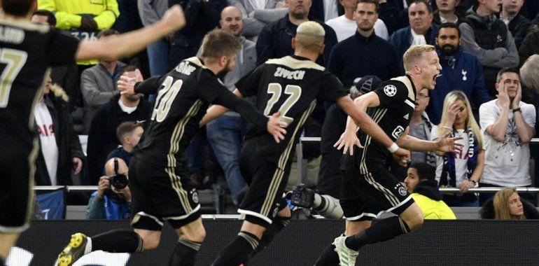 El Ajax de Tagliafico dio el primer paso para meterse en la final de la Champions
