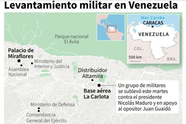 Juan Guaidó llamó a nuevas protestas para lanzar la fase final de la Operación Libertad