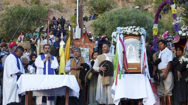 El encuentro entre la Virgen de Tumbaya y la Virgen de Tilcara será el 11 de mayo