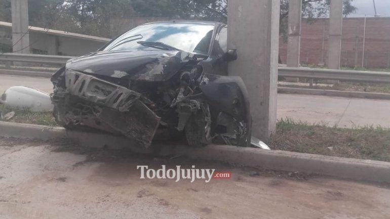 Nuevo accidente en Jujuy con una persona hospitalizada