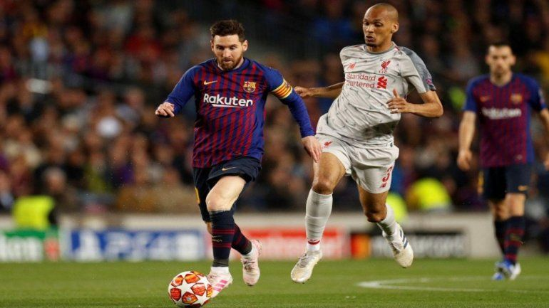 Con un doblete de Messi Barcelona goleó al Liverpool en la primera semifinal