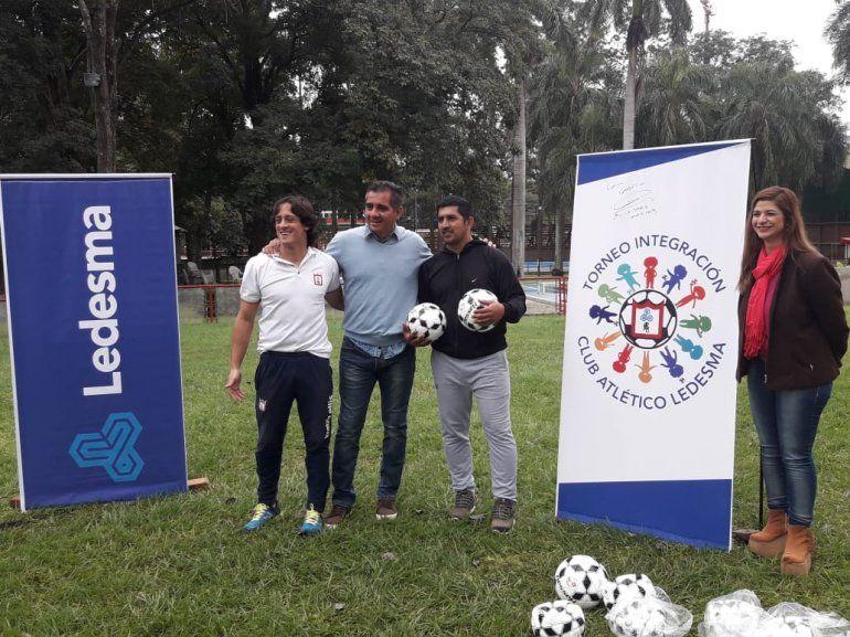 Ledesma presentó la edición 2019 del torneo Integración de fútbol infantil