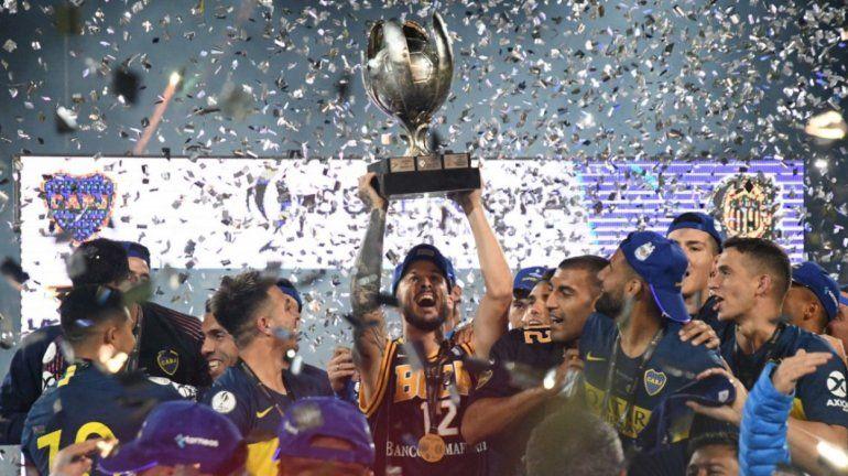 Tras ganar la Supercopa, Boca estiró la ventaja como el más ganador de la historia
