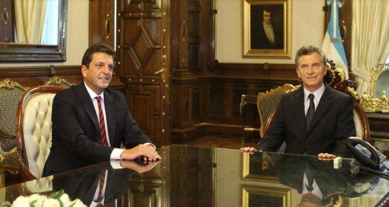 Todojujuy.comMacri habló con Massa para alcanzar un acuerdo por el país. Foto: EFE.