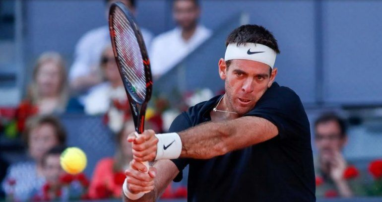 Juan Martín del Potro volvió a jugar y ganó su partido de dobles junto a Kei Nishikori