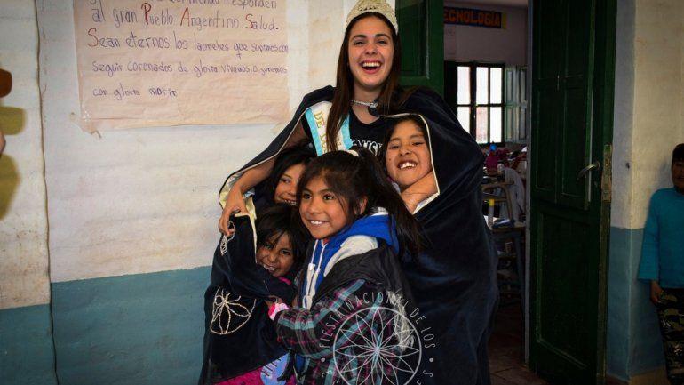 Victoria Telecher está de visita por diferentes localidades de Jujuy