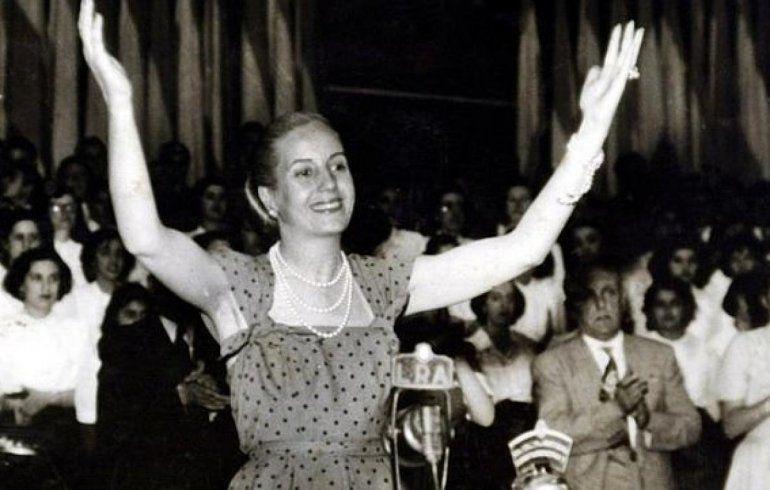 Pedirán al Papa Francisco la beatificación de Eva Duarte de Perón