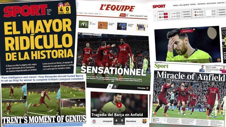 Tapa de Diario Sport de Barcelona.