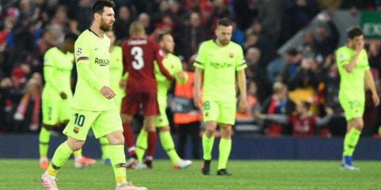 Lionel Messiluego de la derrota
