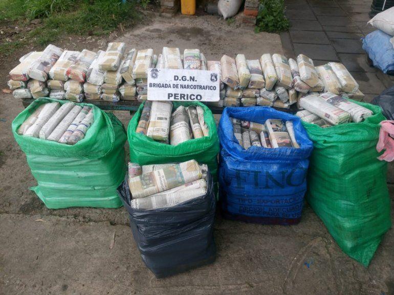 Detienen en Jujuy a dos salteñas con casi 150 kilos de hojas de coca