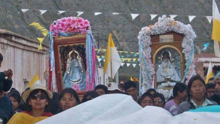 Todo listo para el encuentro entre la Virgen de Tumbaya y la de Tilcara
