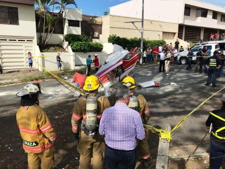 Costa Rica: cayó una avioneta piloteada por dos argentinos de 23 años