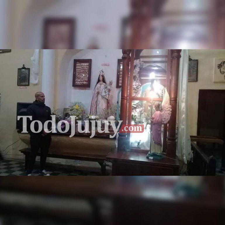 Fe y emoción: la Brujita Verón visitó a la Virgen de Punta Corral