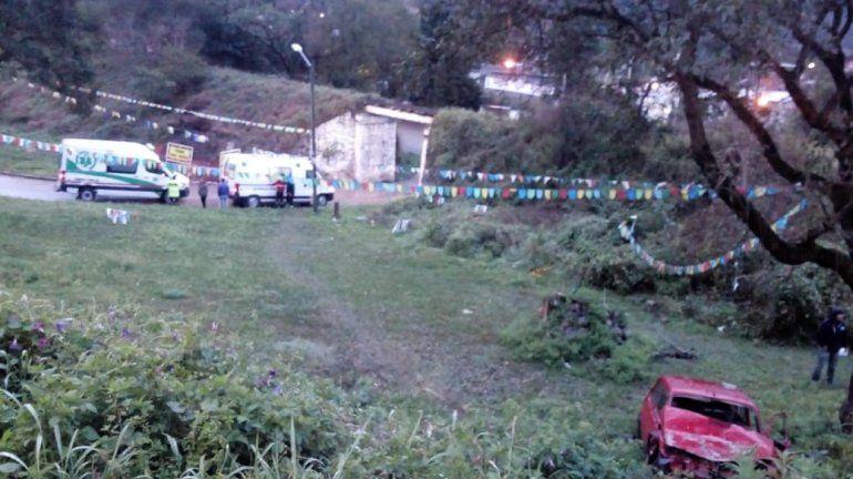 Accidente en Lozano