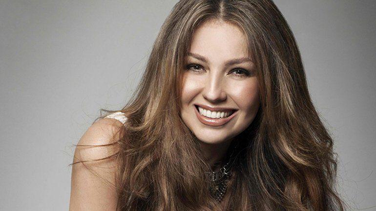 La rompe: Thalia fue elegida como la latina más linda del mundo
