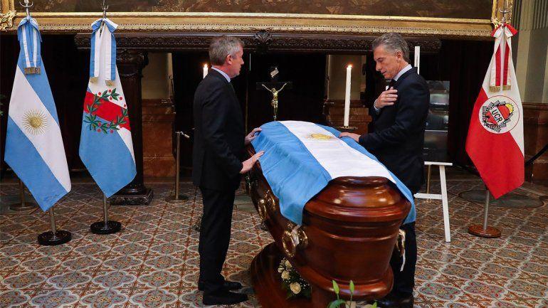 El último adiós al diputado Héctor Olivares en el Congreso de la Nación