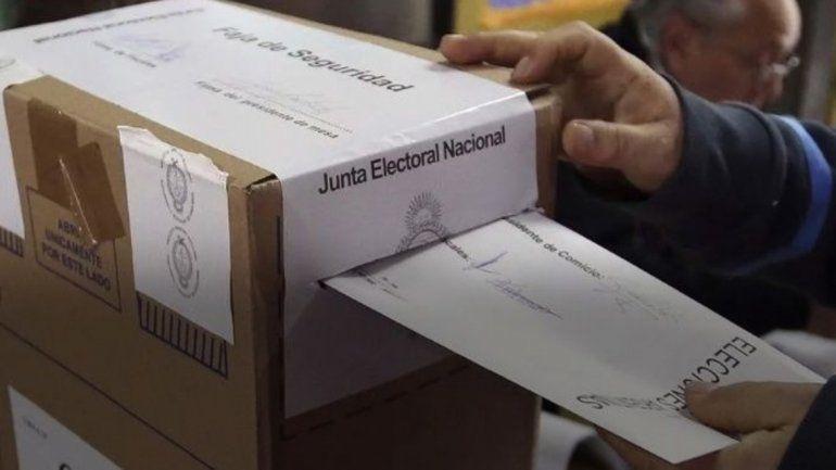 Serán 1823 las mesas habilitadas para las votaciones en la provincia