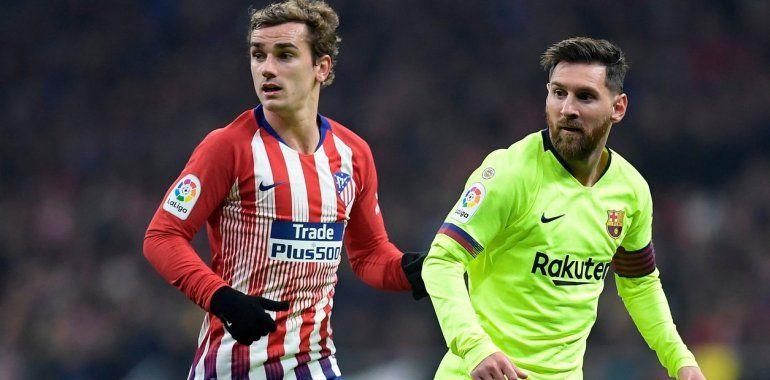 Griezmann se va de Atlético de Madrid y será compañero de Messi