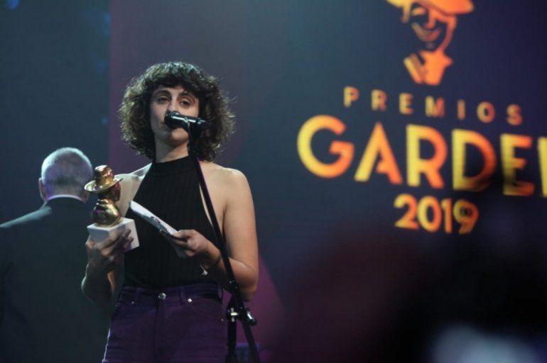 Marilina Bertoldi, la gran ganadora del Oro en los Premios Gardel